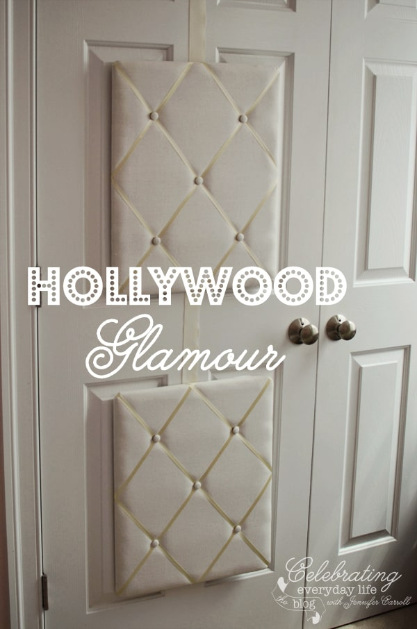 Dress Up Closet Doors with French Memory Boards  Celebrating Everyday Life with Jennifer Carroll
