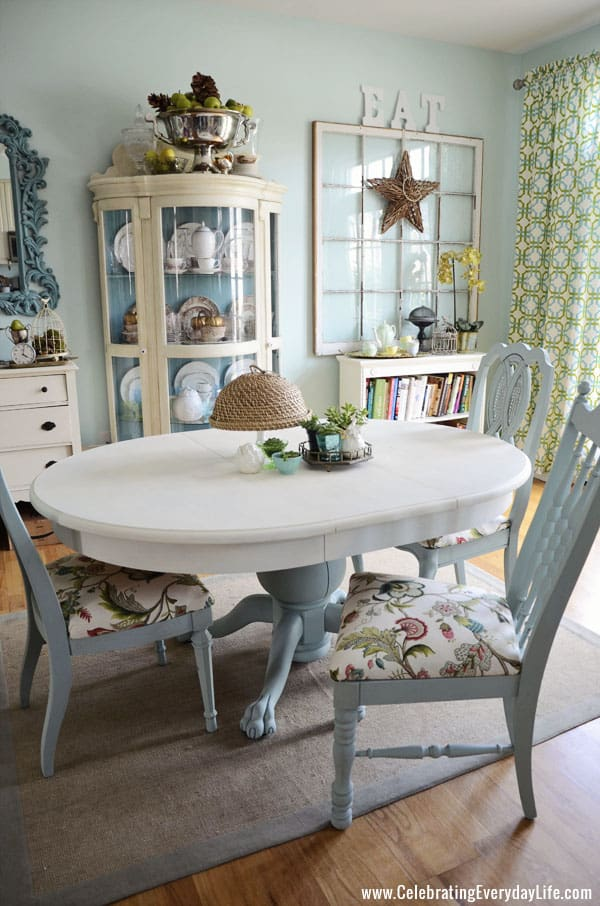 painting living room furniture white candice olson rooms pictures how to save tired dining chairs with chalk paint right now table and makeover annie sloan old