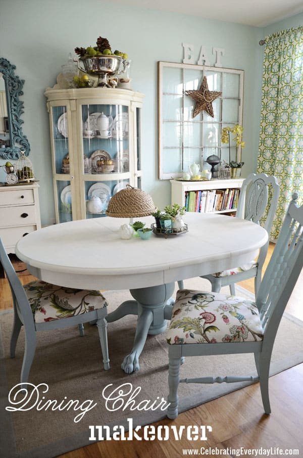 reupholster dining chairs sofas and new orleans how to recover a room chair easily makeover with annie sloan chalk paint old white