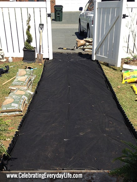 Tips on Installing a Pea Gravel Garden Path  Celebrating everyday life with Jennifer Carroll