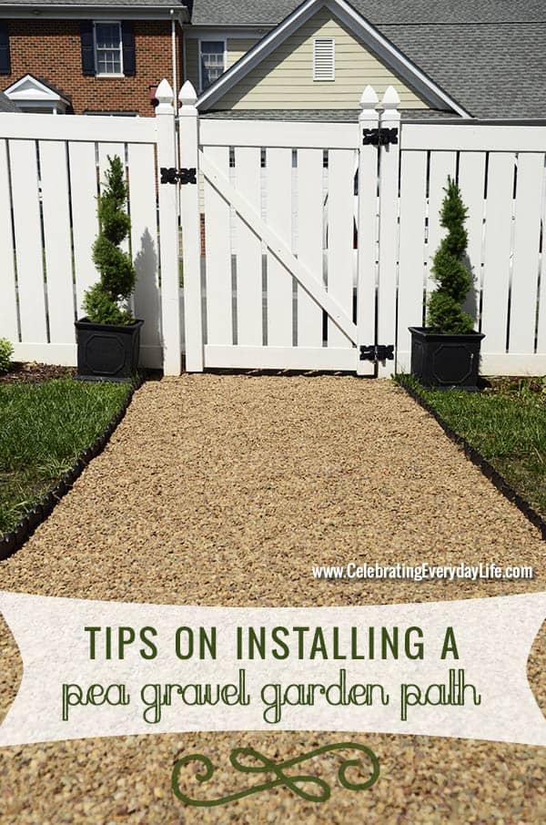 Tips On Installing A Pea Gravel Garden Path, Backyard DIY Project, How To  Install