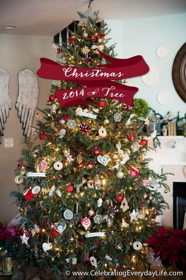 My 2014 Union Jack inspired Christmas Tree
