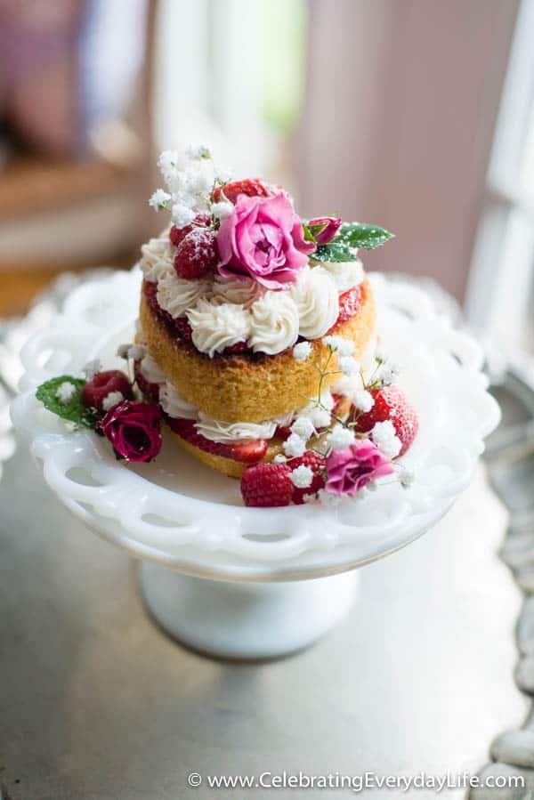 Victoria Sponge Cake Recipe, Sponge Cake recipe, Heart Cake, Valentine Dessert, Celebrating Everyday Life with Jennifer Carroll