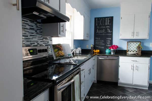 Home Staging Before + After, Home Staging Ideas, How To Stage A Kitchen,