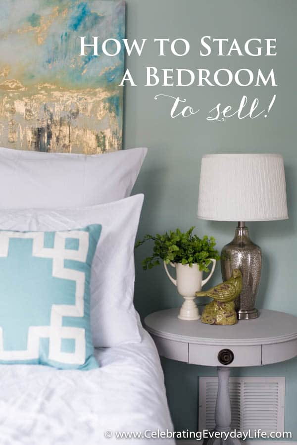 Awesome Tips for How to Stage a Bedroom to sell