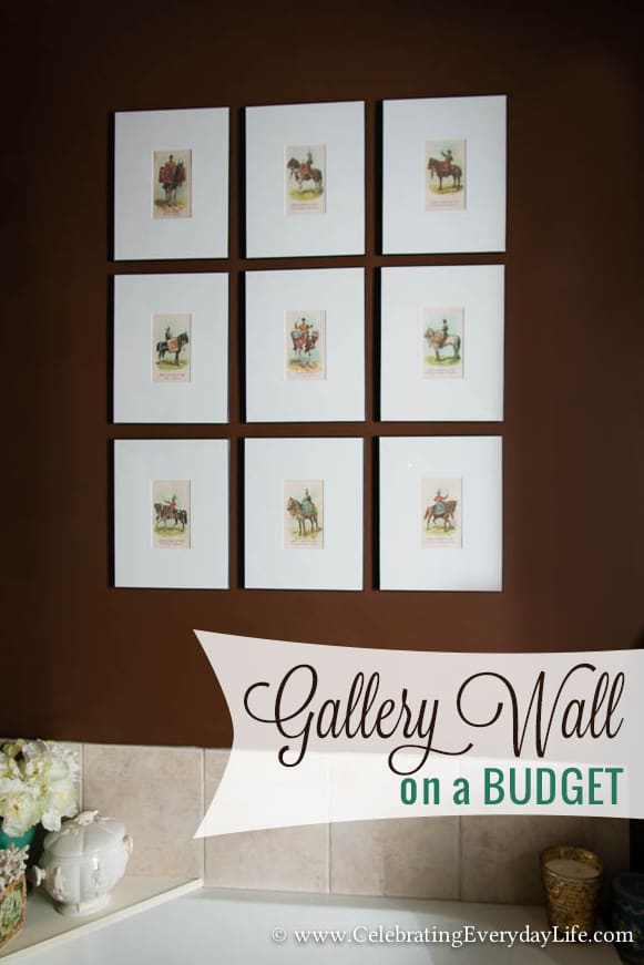 How To Create Amp Hang A Gallery Wall On A Budget
