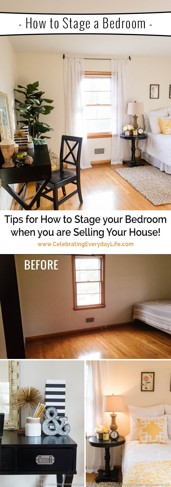 How To Stage A House Prior To Selling: More Tips For How To Stage A Bedroom To Sell NOW