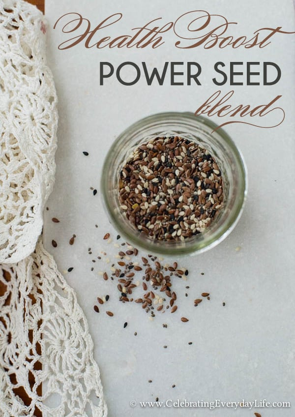 Health Boost: Power Seed Blend