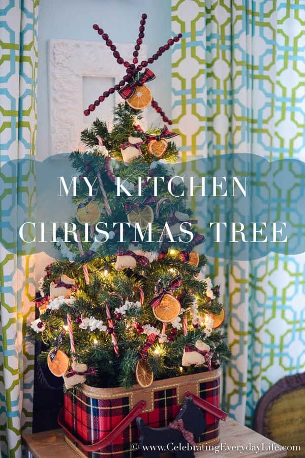 Orange Christmas Tree Ornaments