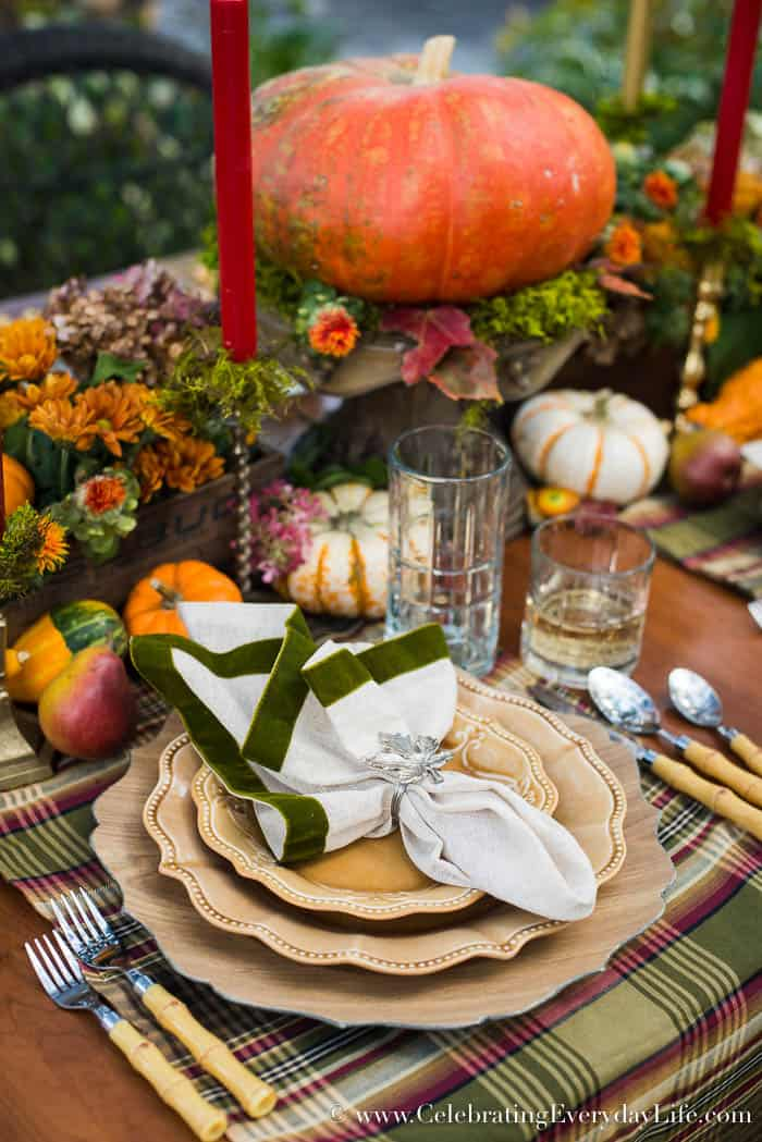 A Fall Tablescape - Welcome Autumn - photo#24