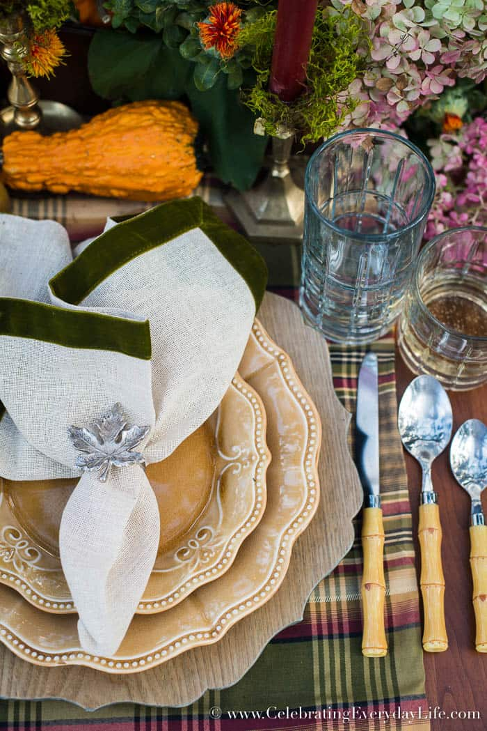 A Fall Tablescape Welcome Autumn