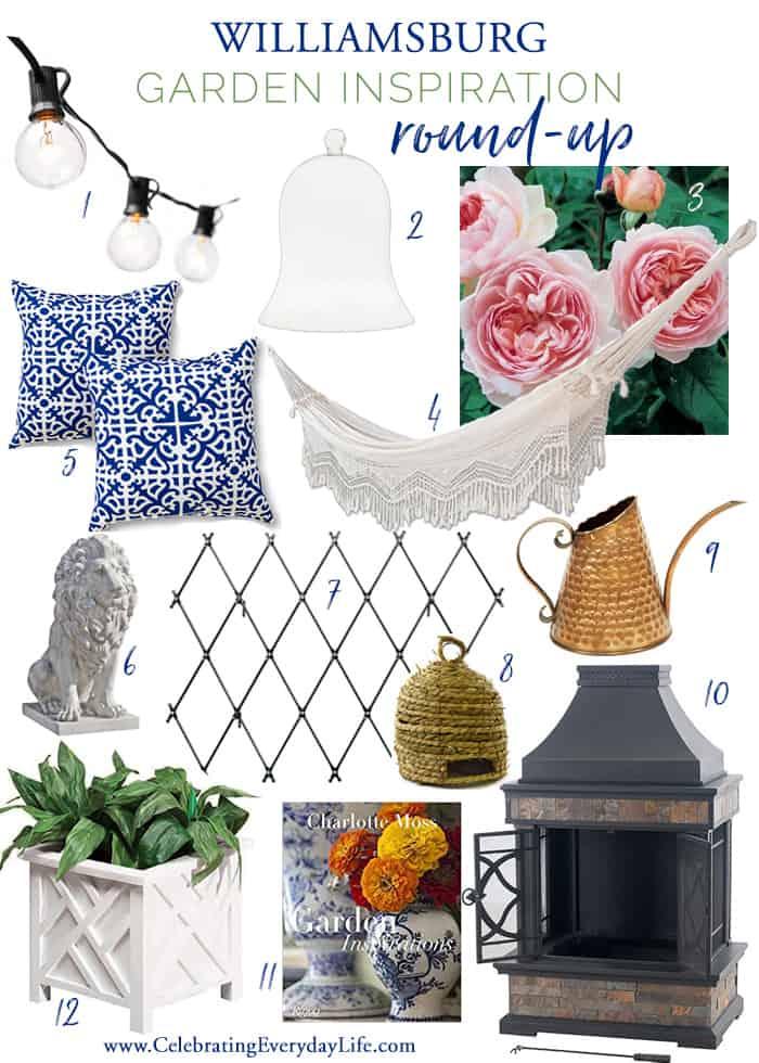 12 Ways to Add Williamsburg Style to Your Garden