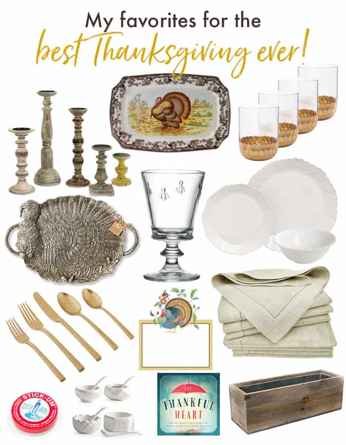 My favorites for the best Thanksgiving ever!, Thanksgiving Essentials from Celebrating Everyday Life