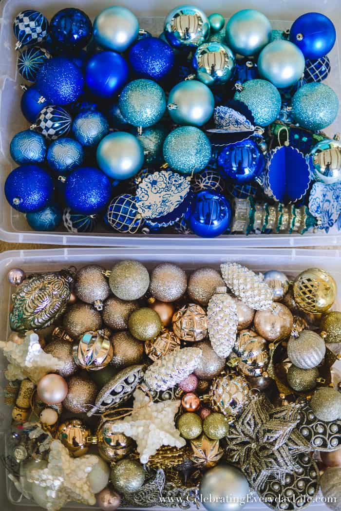 How To Make Storing Christmas Decorations Easy With Free Printables Home Organization
