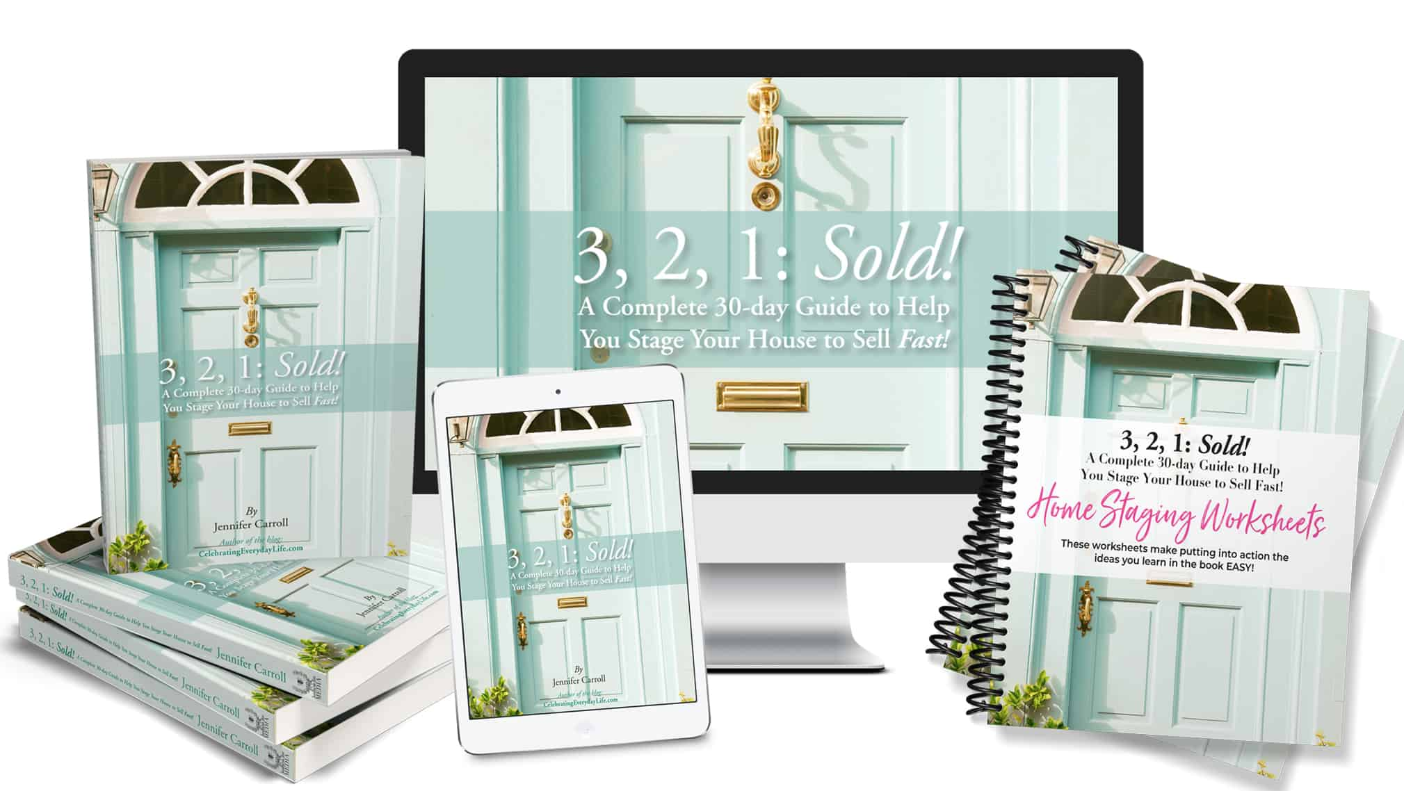 Home Staging 3 2 1 Sold Sales Page