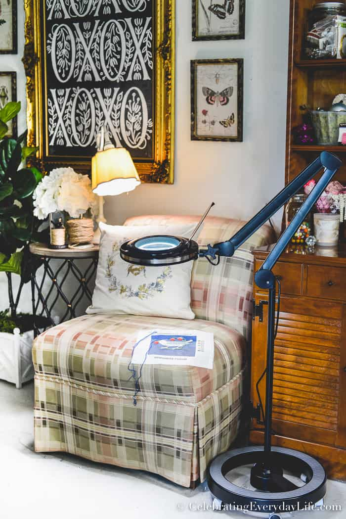 A Review of My New Brightech Lightview Pro Dimmable LED Magnifying Floor lamp