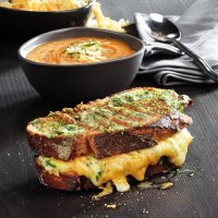 Four Cheese Gourmet Grilled Cheese