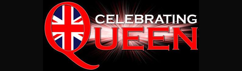 Celebrating Queen Wide Logo