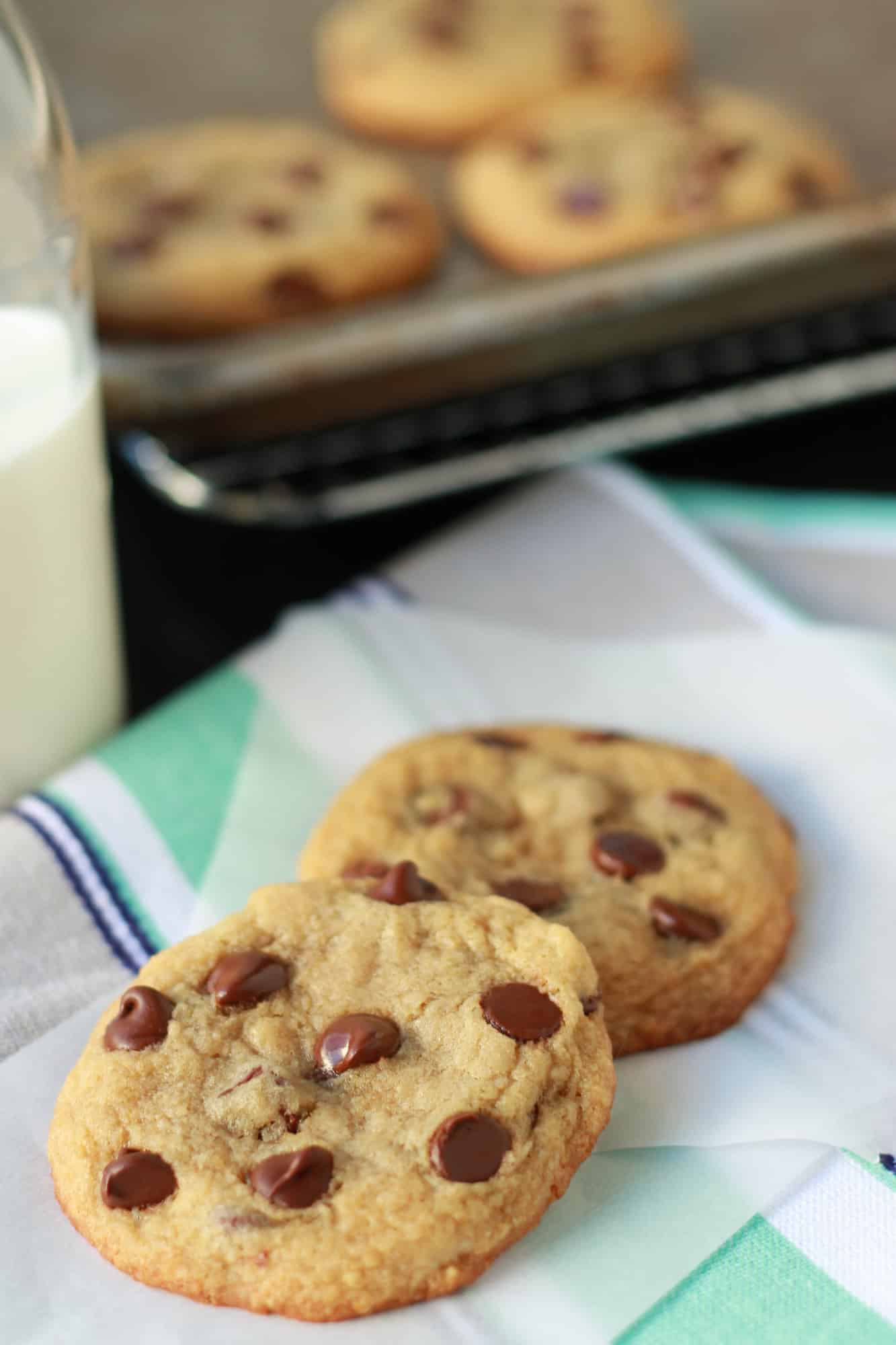 Small Batch Chocolate Chip Cookies - Celebrating Sweets
