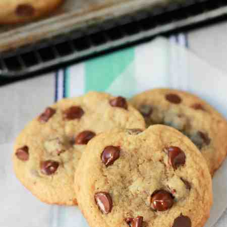 small batch chocolate chip cookies 2