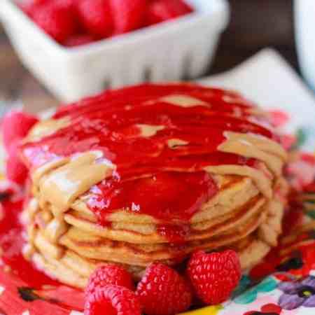 pb&j pancakes 1