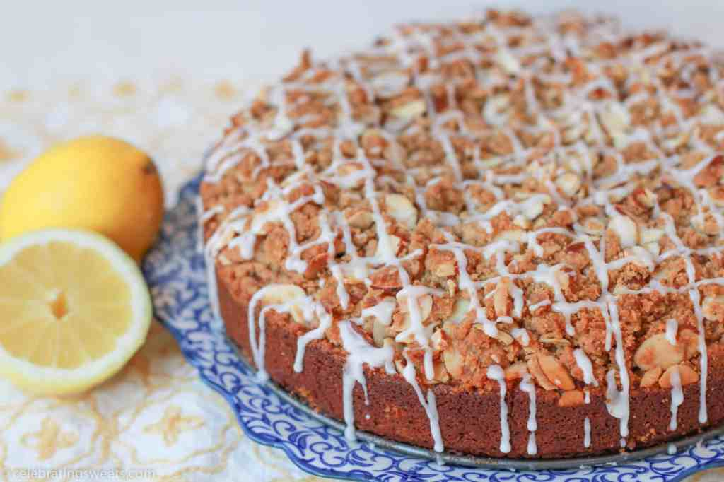 Lemon Almond Coffee Cake from Celebrating Sweets
