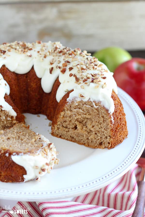 Cake With Apples In It Cream Cheese Bundt