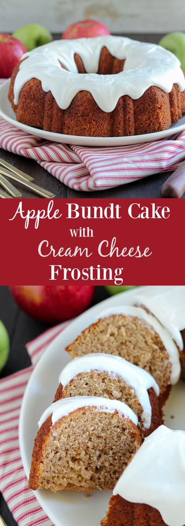 Apple And Cream Cheese Bundt Cake With Caramel Frosting