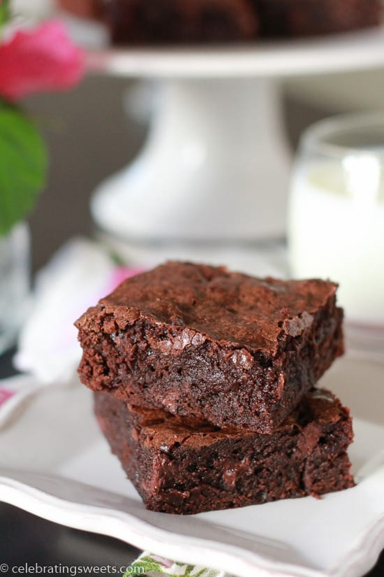 Rich Fudgy Brownies - 3
