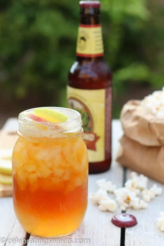 Apple Shandy - A cool and refreshing summer drink