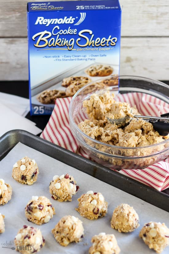 Maple Oatmeal Cookies - Soft and chewy oatmeal cookies with a subtle maple flavor. Add your favorite mix-ins! This cookie dough freezes beautifully so that you can have freshly baked cookies anytime!