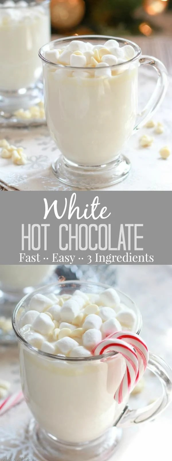Making hot chocolate for a crowd - White Hot Chocolate A Simple Recipe For Sweet And Creamy Homemade White Hot Chocolate That