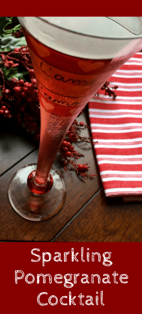 Christmas Drinks: Recipe for Sparkling Pomegranate Cocktail
