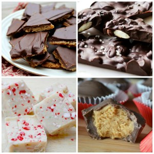 15 Easy Christmas Candy Recipes. #christmasrecipes #candy #holidaytreats