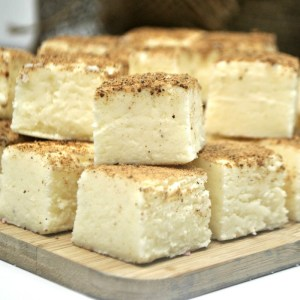 Easy Eggnog Fudge Recipe