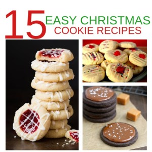 15 easy Christmas cookie recipes - Celebrating the Season