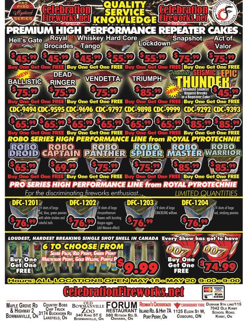 Advertising Fireworks sales