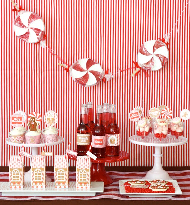 Christmas House Party Decor – Home Design And Decorating