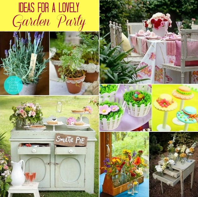Ideas For Hosting A Garden Party Celebrations At Home