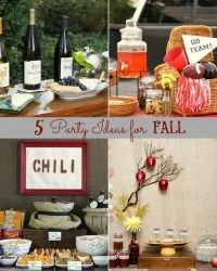 5 Party Themes For Fall Gatherings - Celebrations at Home