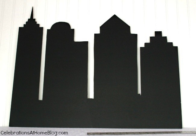Superman Skyline Backdrop