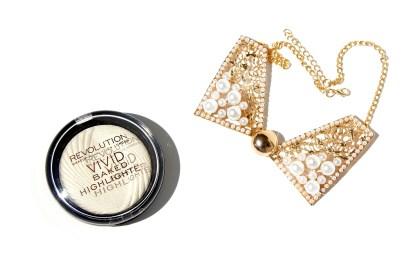 Makeup Revolution Highlighter Golden Lights