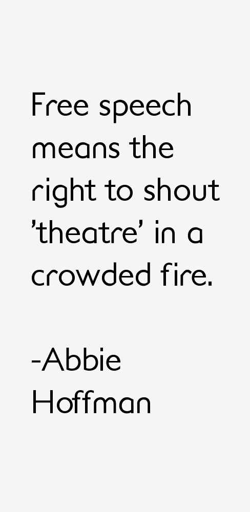 Abbie Hoffman Quotes & Sayings