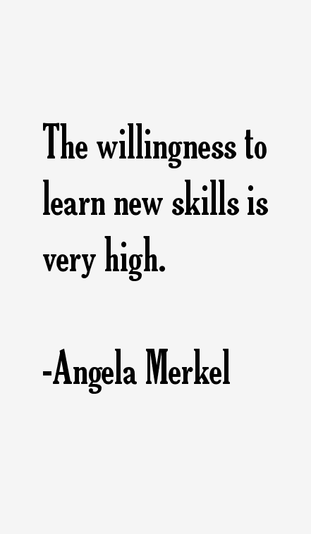 Angela Merkel Quotes & Sayings