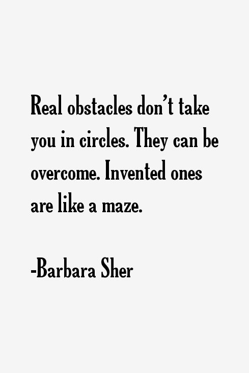 Barbara Sher Quotes & Sayings