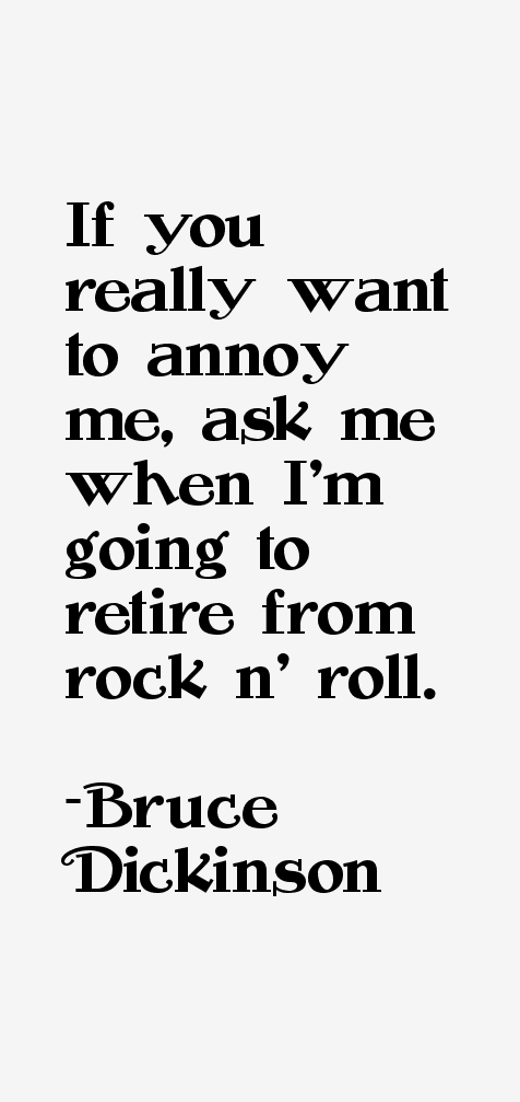 Bruce Dickinson Quotes & Sayings (Page 2)