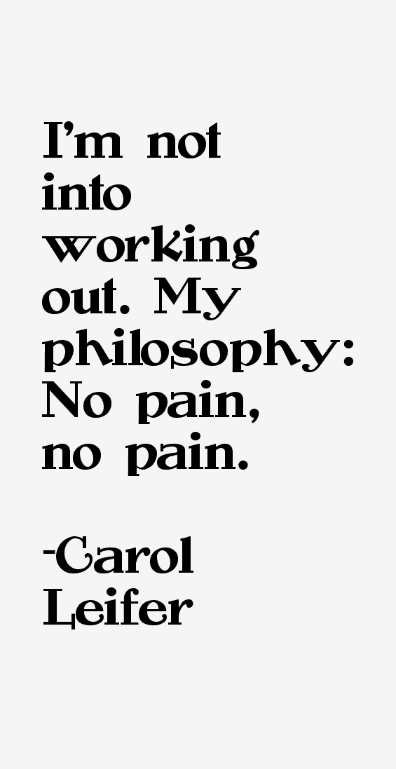 Carol Leifer Quotes & Sayings
