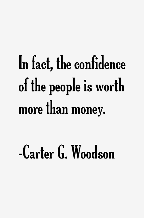 Carter G. Woodson Quotes & Sayings