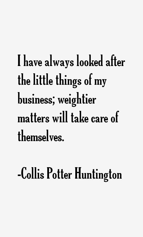 Collis Potter Huntington