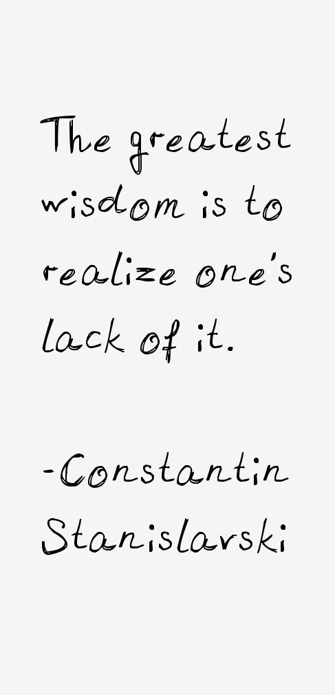 Constantin Stanislavski Quotes & Sayings